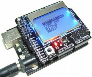 Arduino shields list